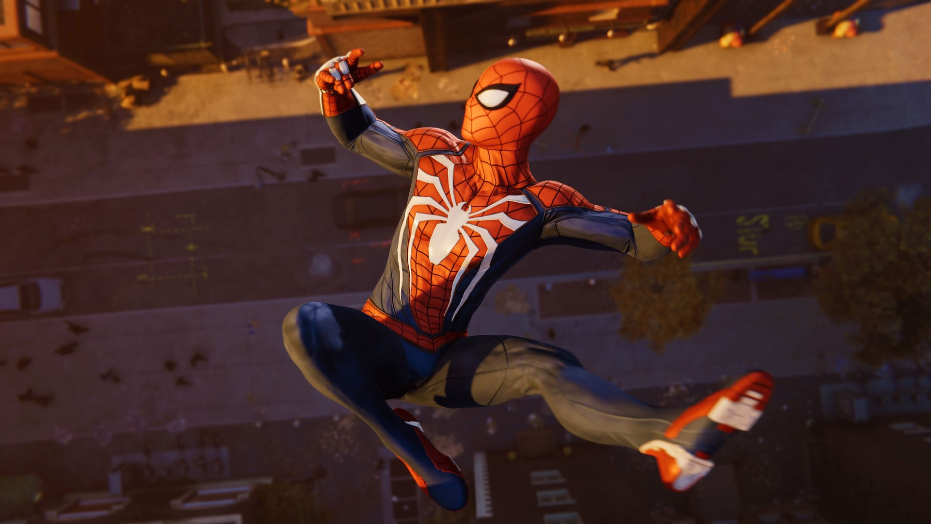 Marvel's Spider-Man PS4 cutscene