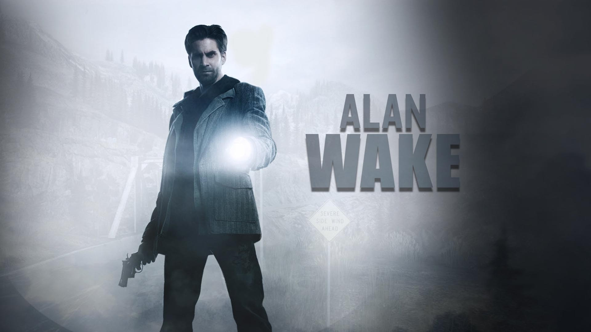 Alan Wake copertina con logo