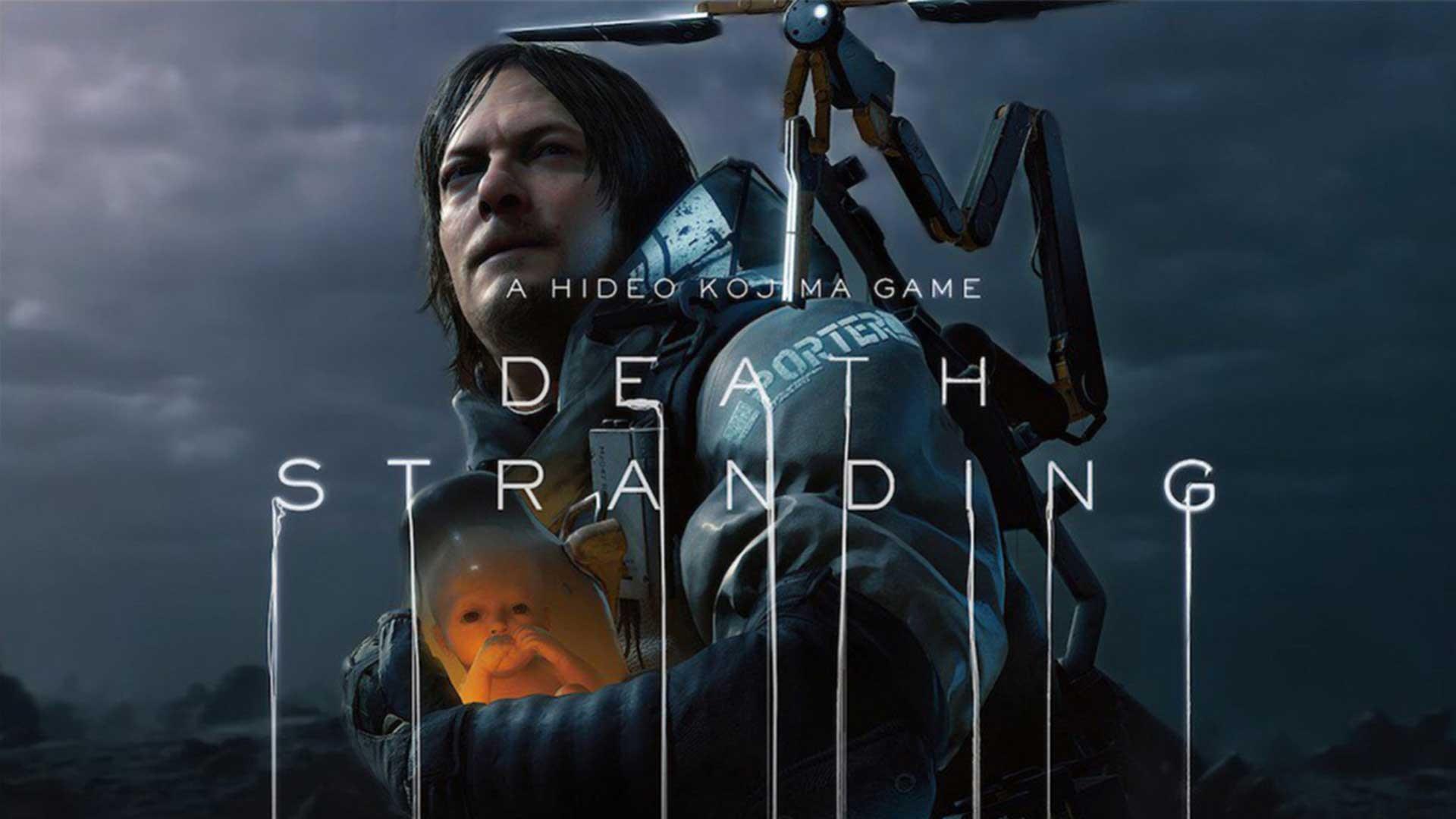 Death Strandings Poster annuncio