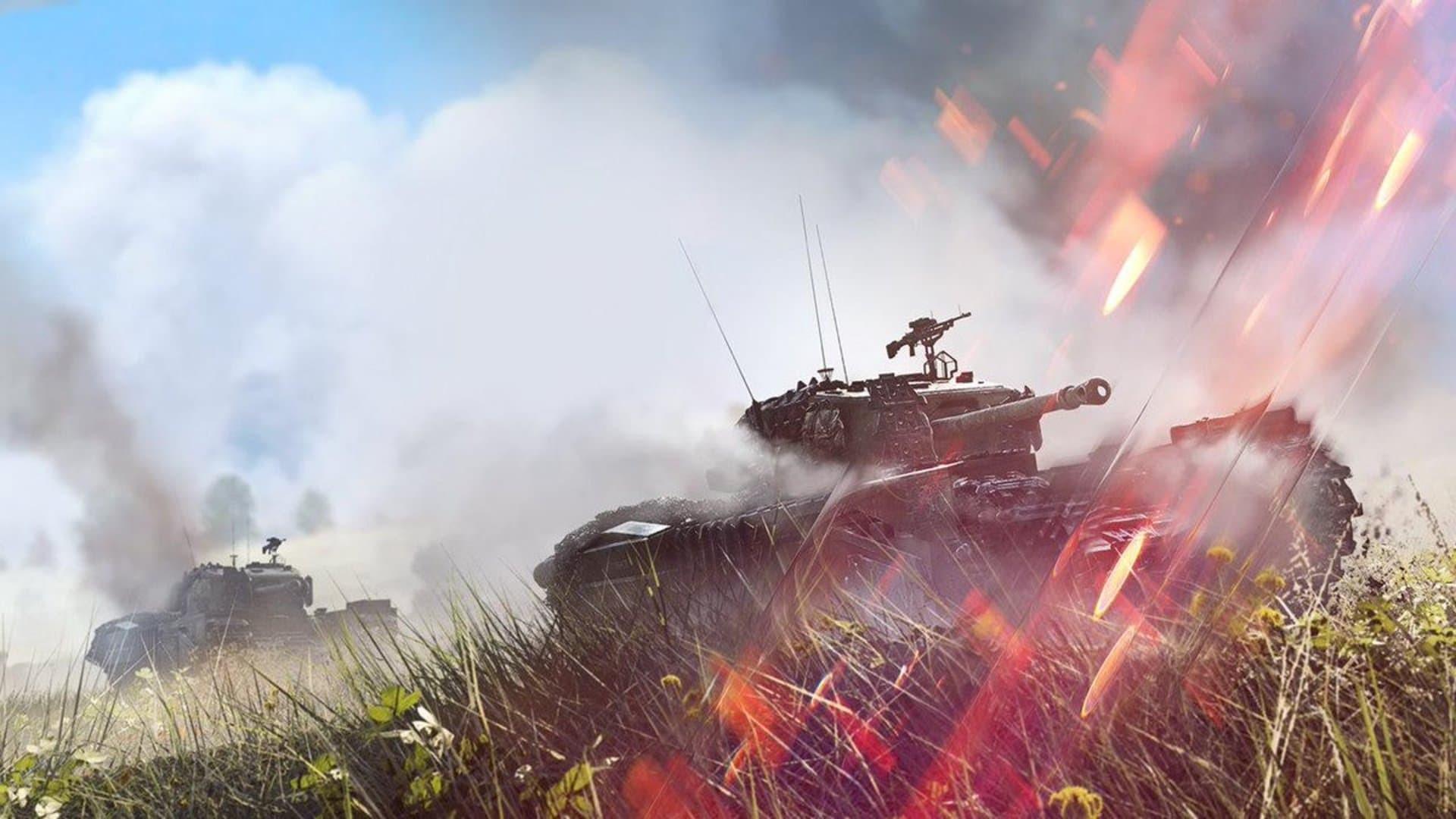 battlefield v carro armato
