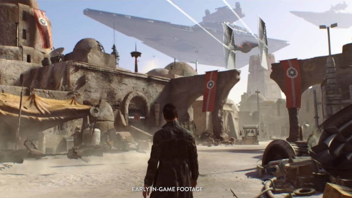 Star Wars visceral games in game footage