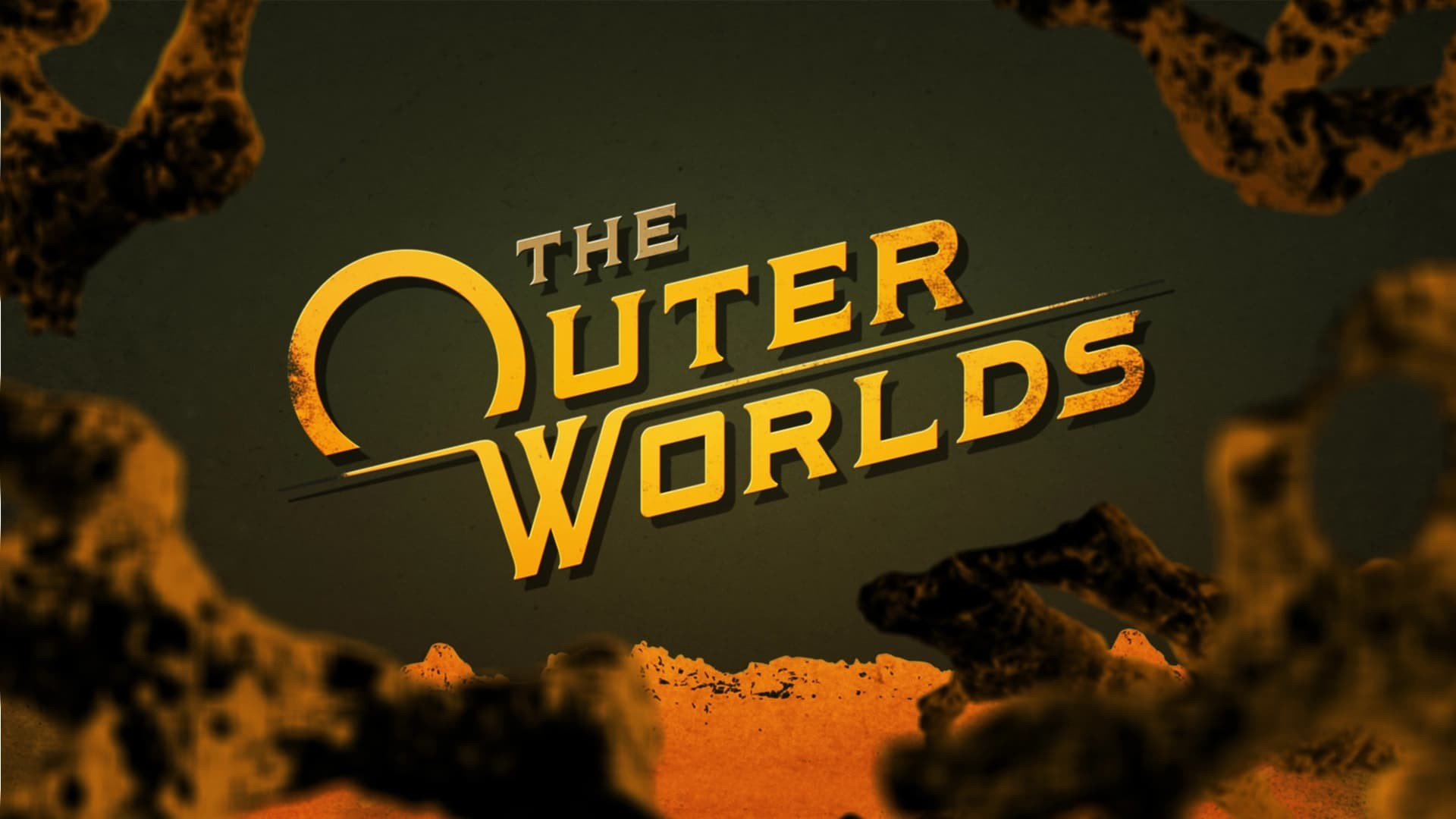 the outer worlds copertina Logo