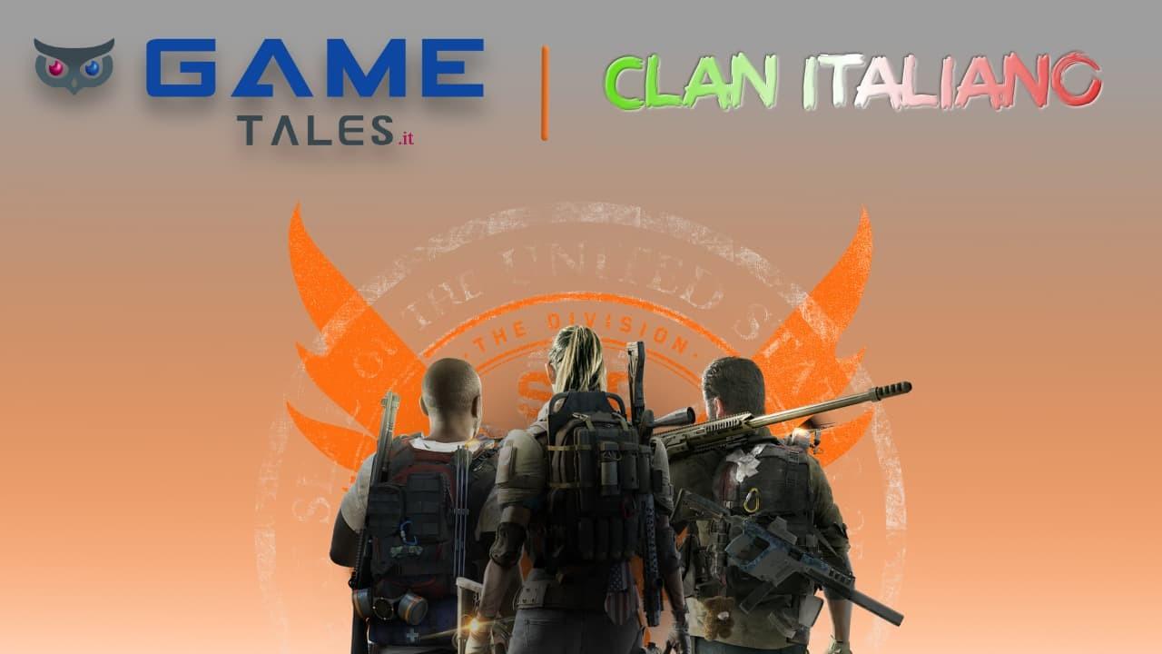 The Division 2 Clan ita