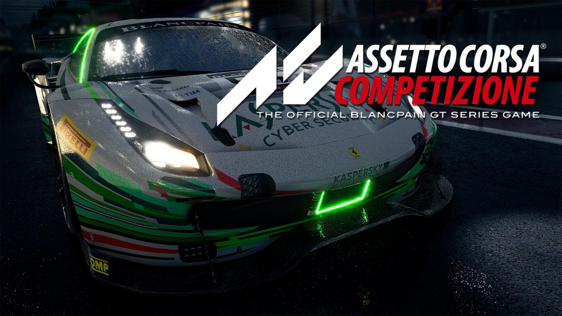 Assetto corsa competizione Ferrari GT