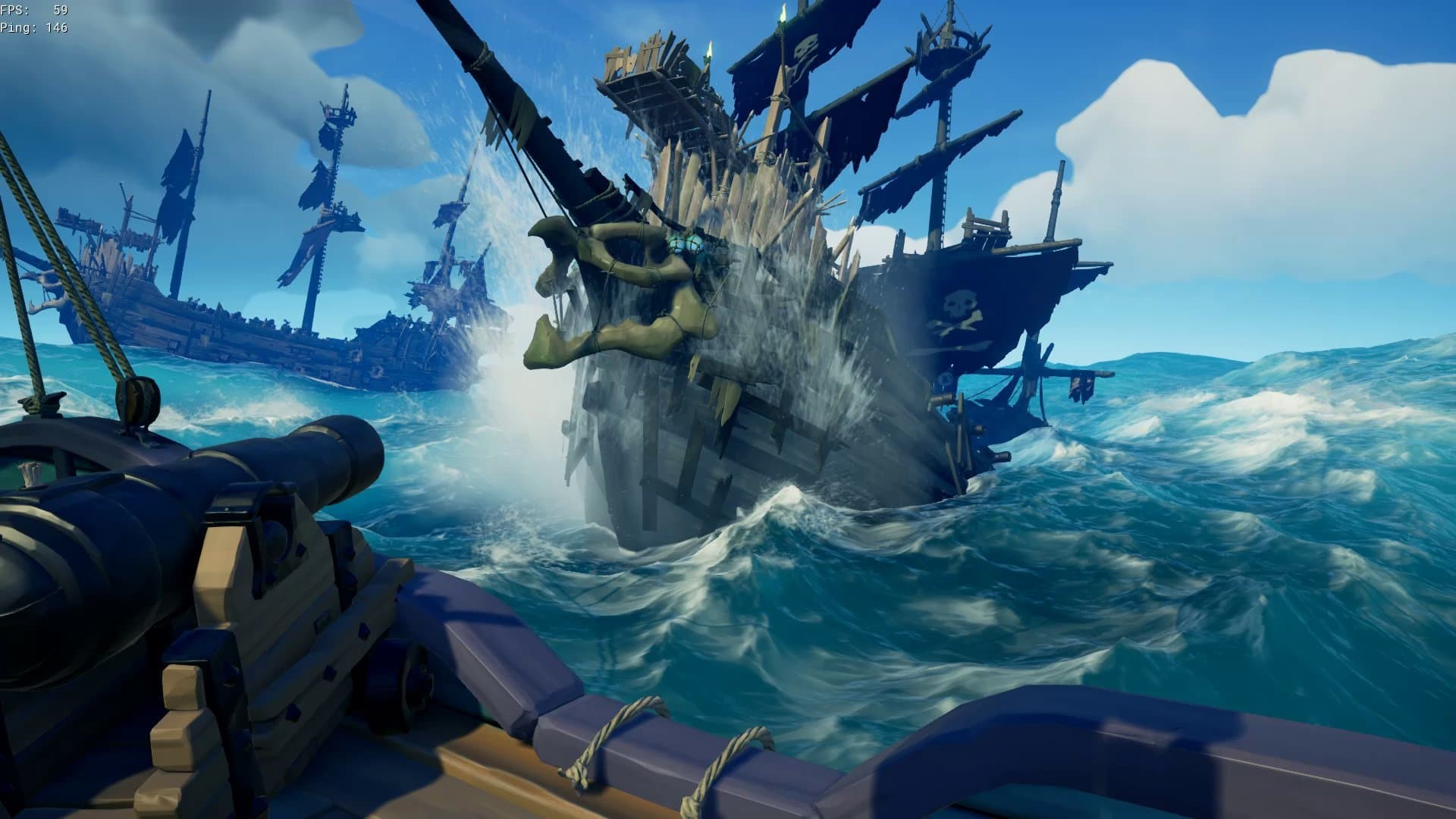 Sea of thieves cursed sails screenshot