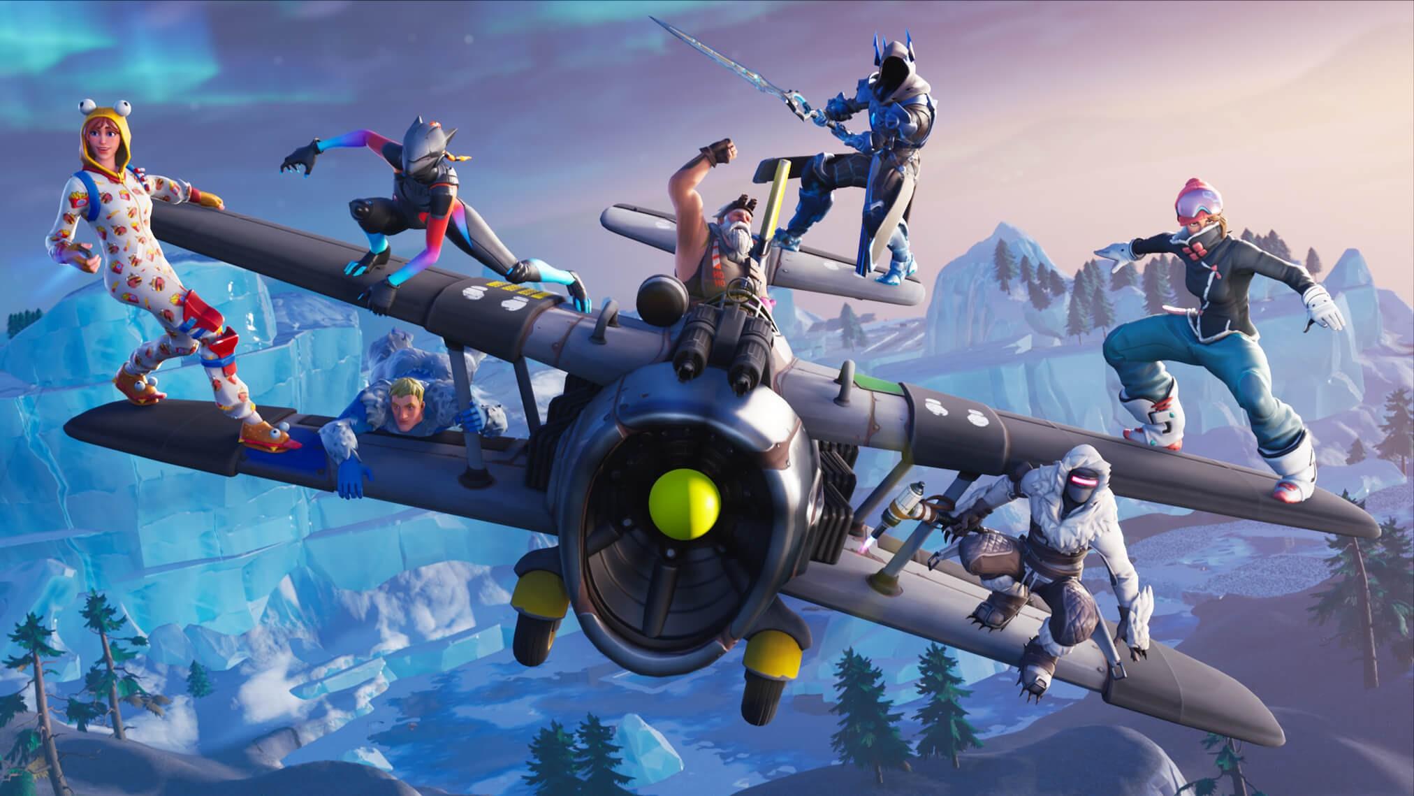 Fortnite Air Royale copertina