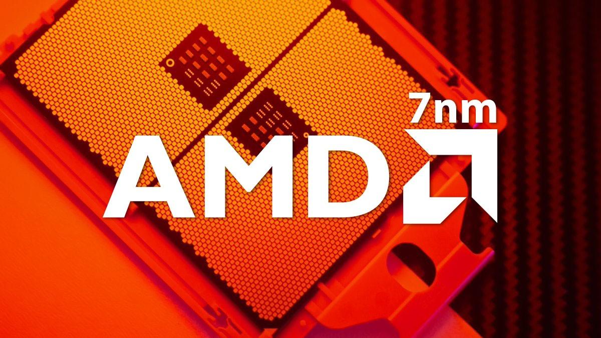 AMD 7nm logo annuncio