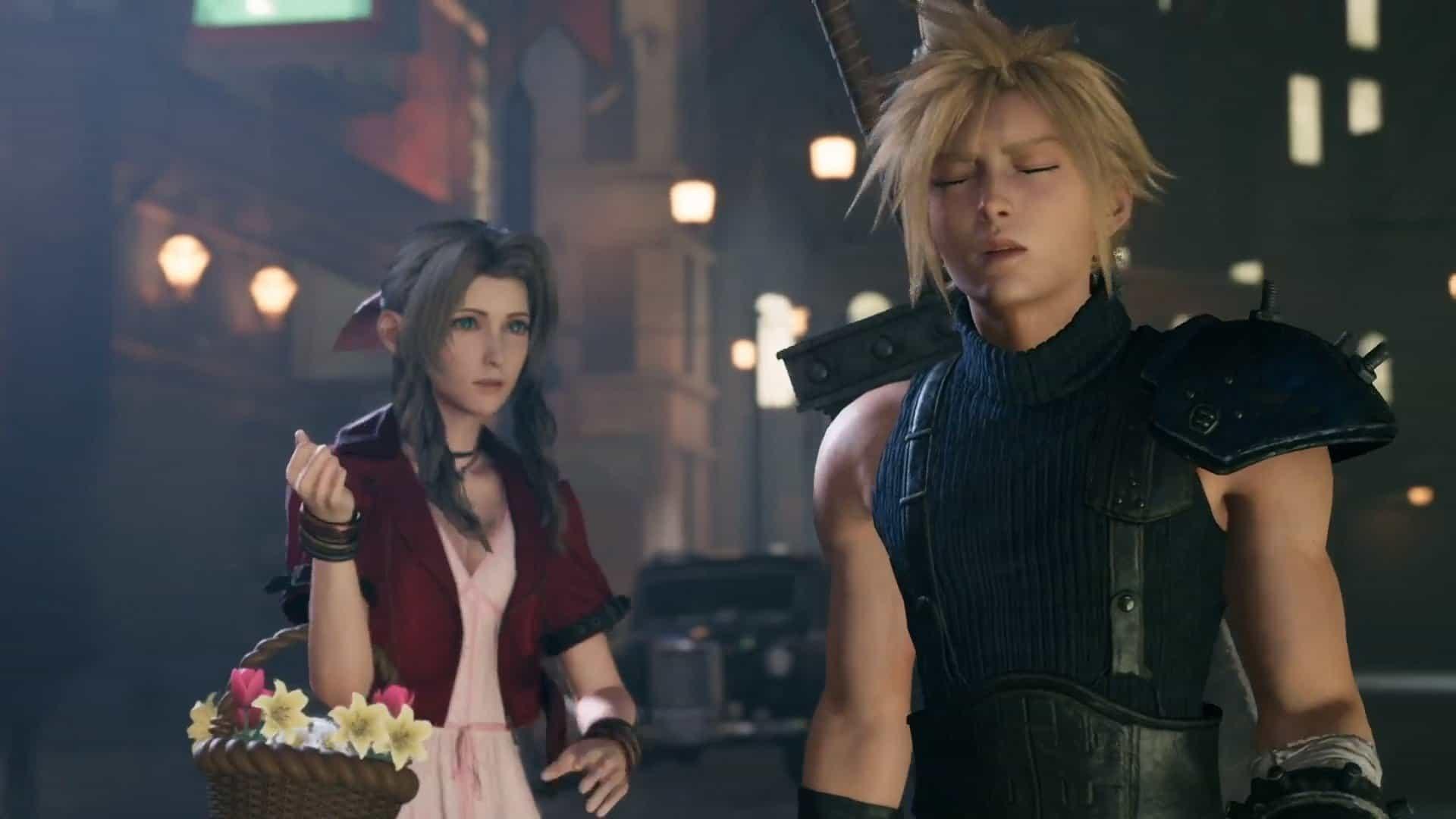 Final Fantasy VII Remake Cloud Fiori