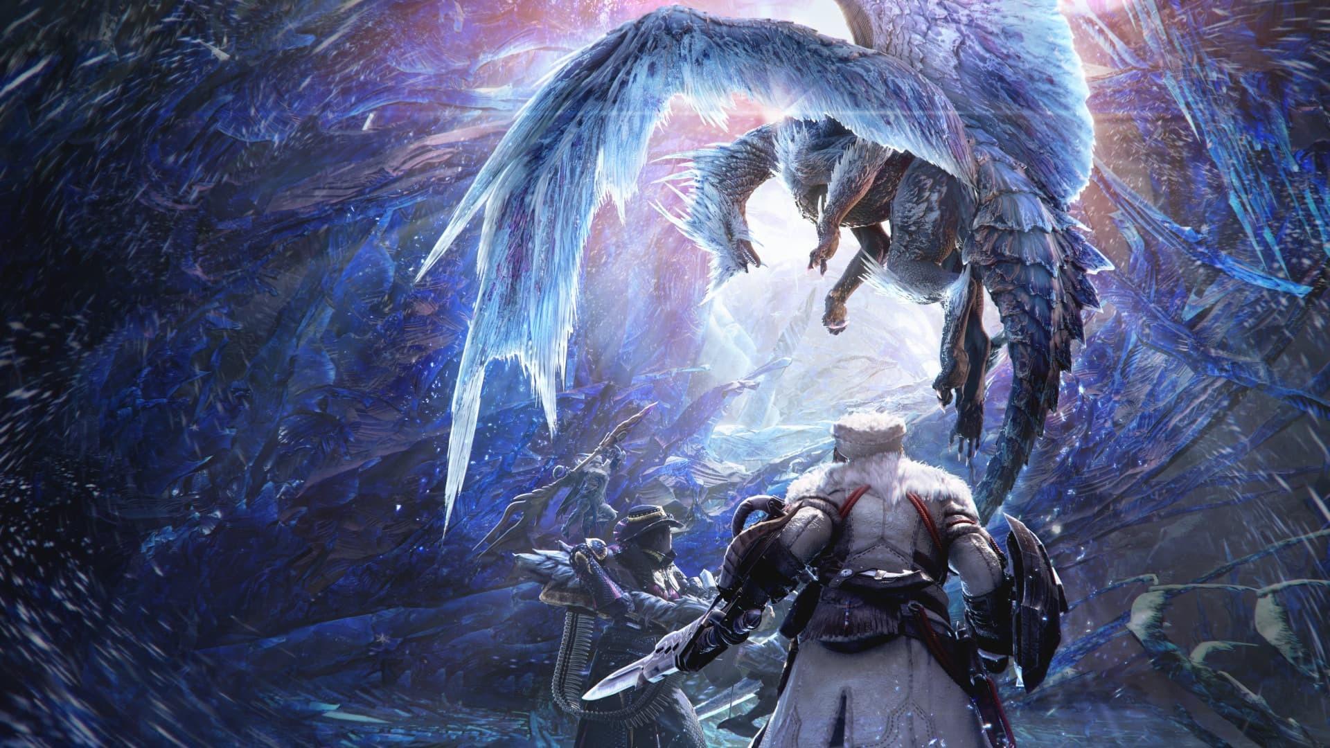 Monster Hunter World Iceborne ART