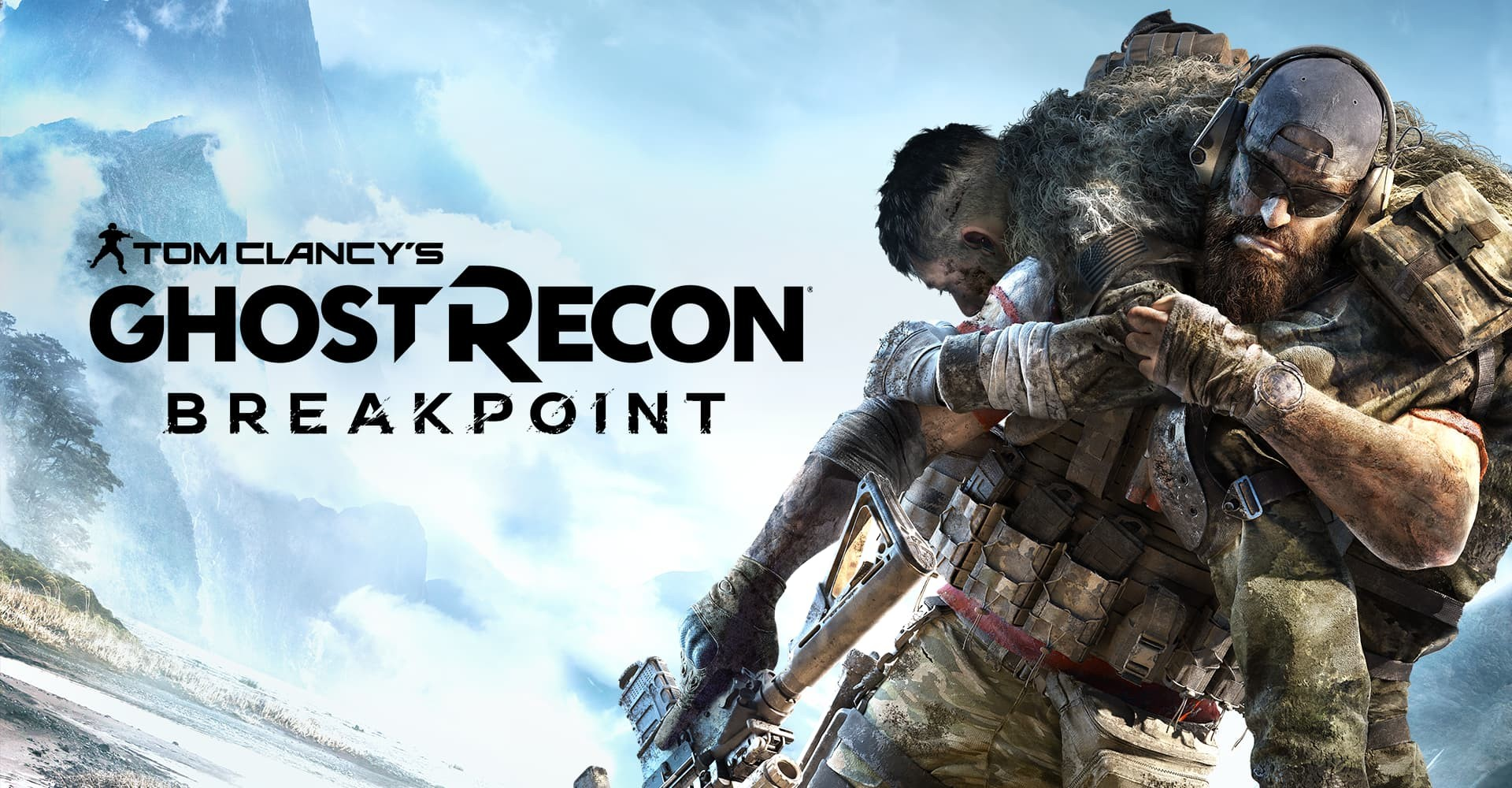 Ghos Recon Breakpoint cover logo
