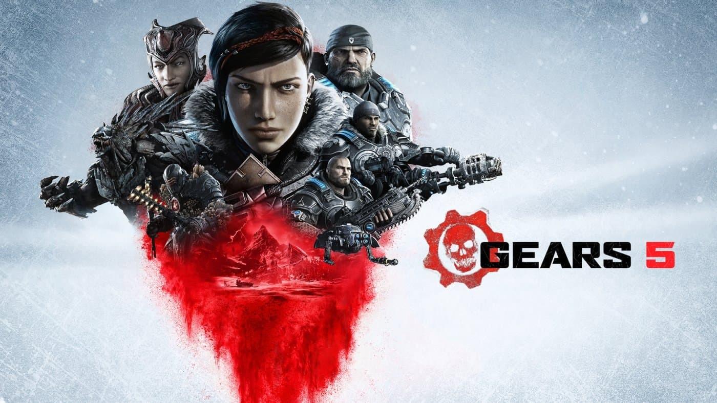 Gears 5 copertina