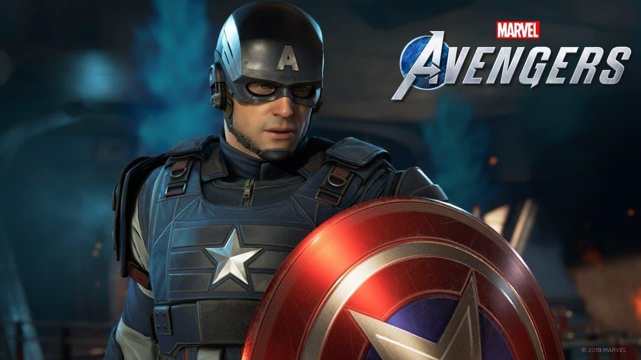 Marvel's Avengers trailer logo