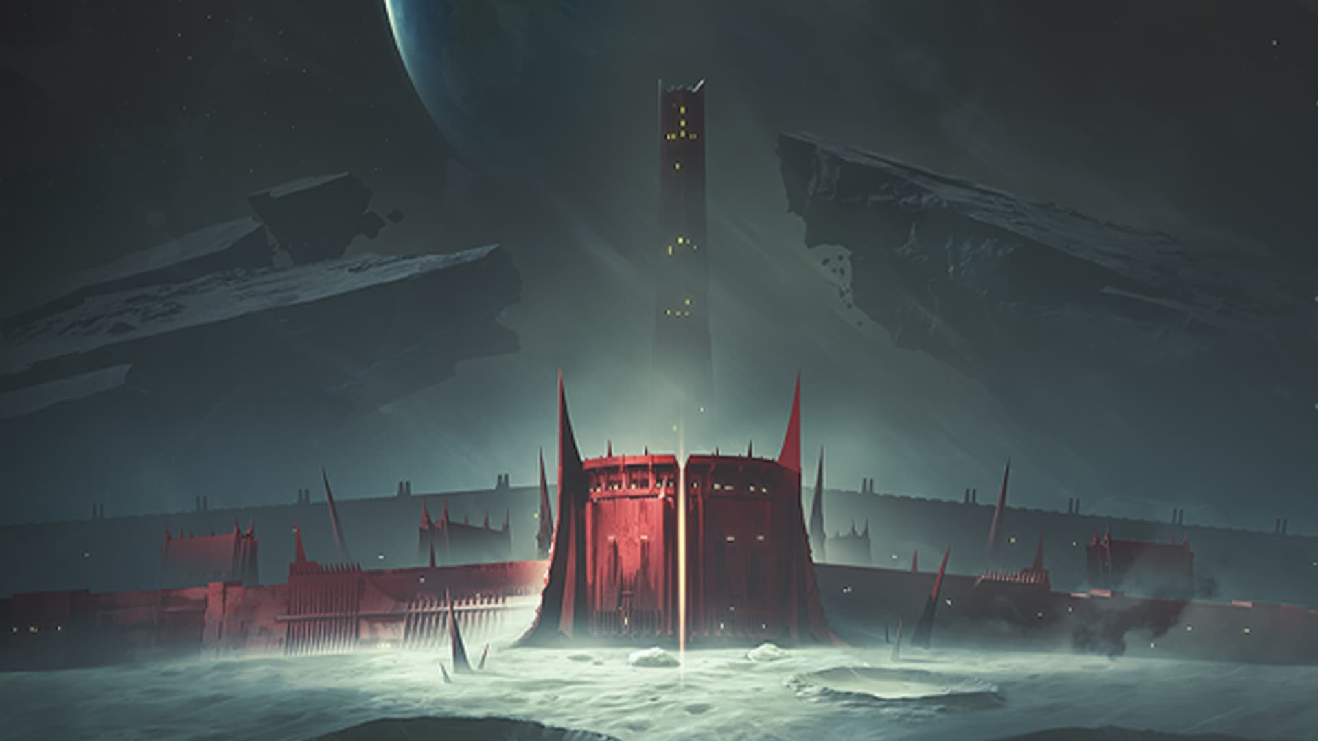 Destiny 2 Shadowkeep artwork copertina senza titolo