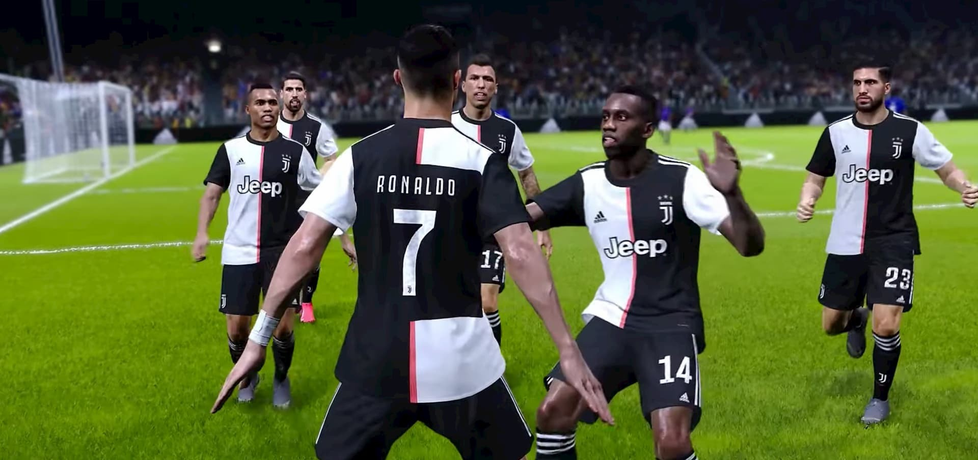 efootball pes 2020 juvents fc