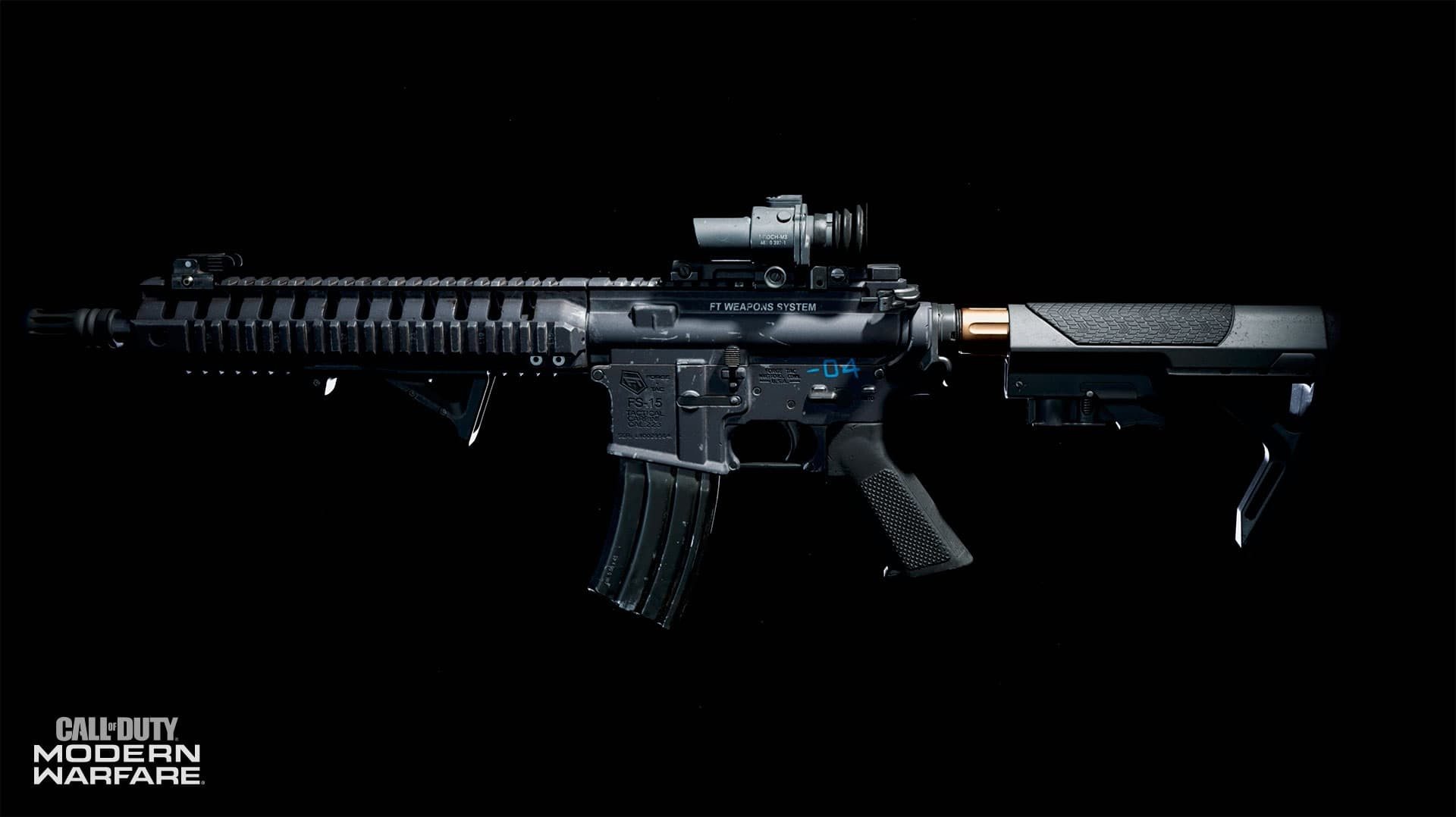 Call of Duty Modern Warfare Gunsmith