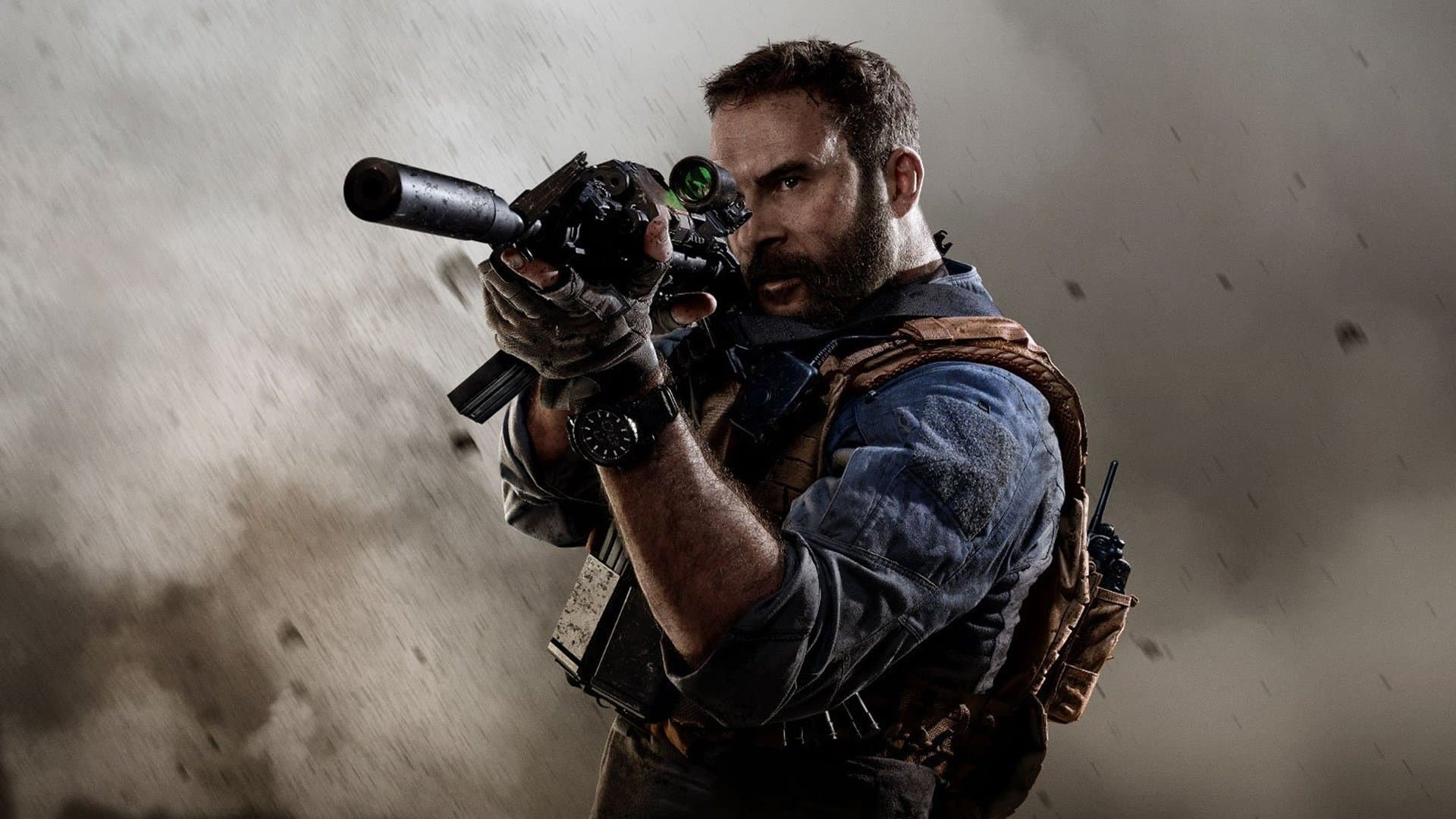 Call of Duty Modern Warfare Character deserto