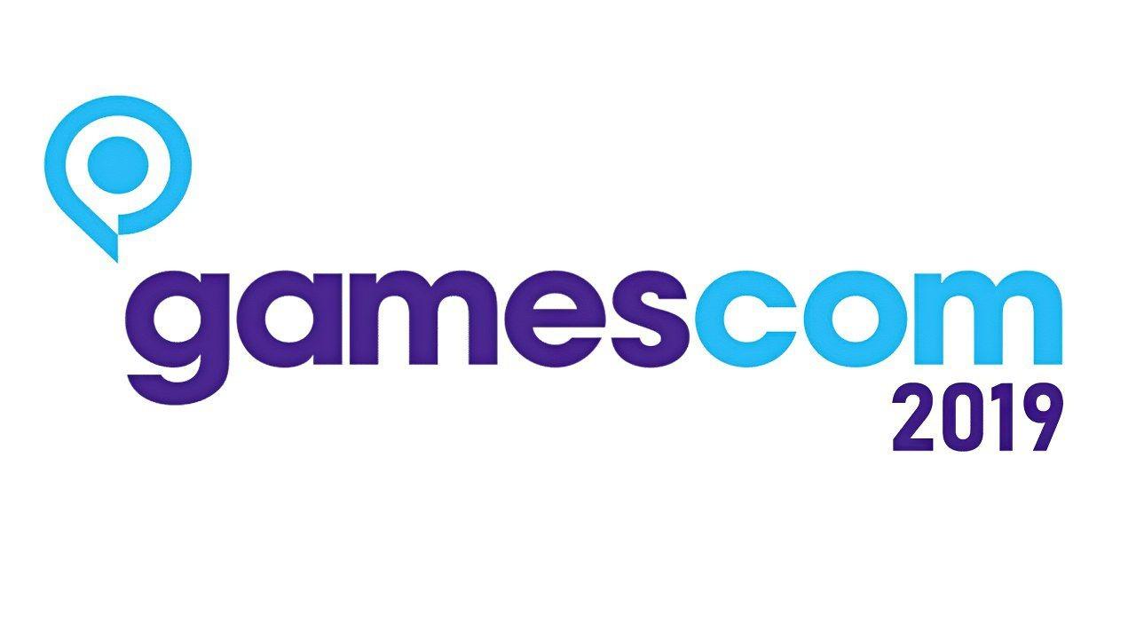 Gamescom 2019 logo con anno