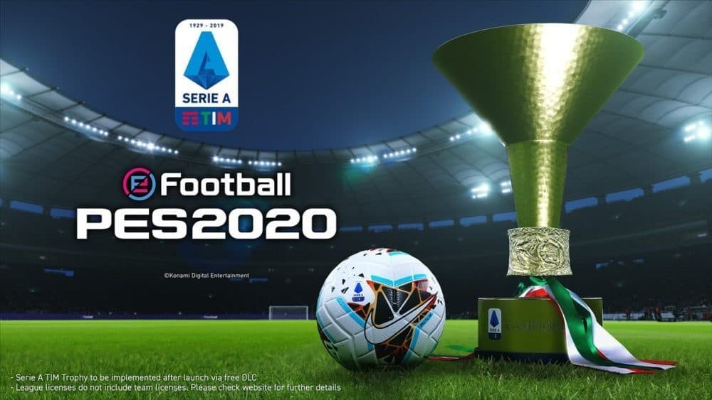 pes 2020 - licenza serie a