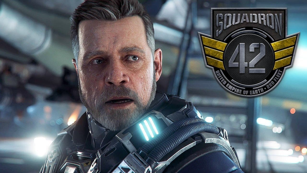 Star Citizen Squadron 42 Mark Hamill
