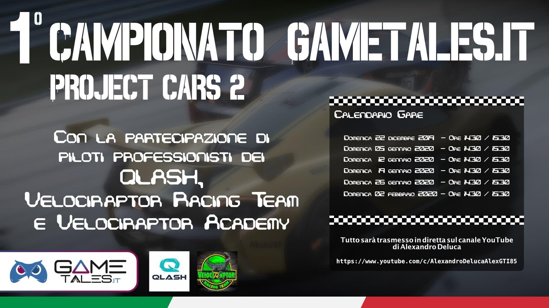 primo campionato project cars 2 gametales