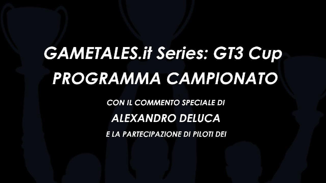 Copertina Annuncio Programma Campionato GT3 Cup