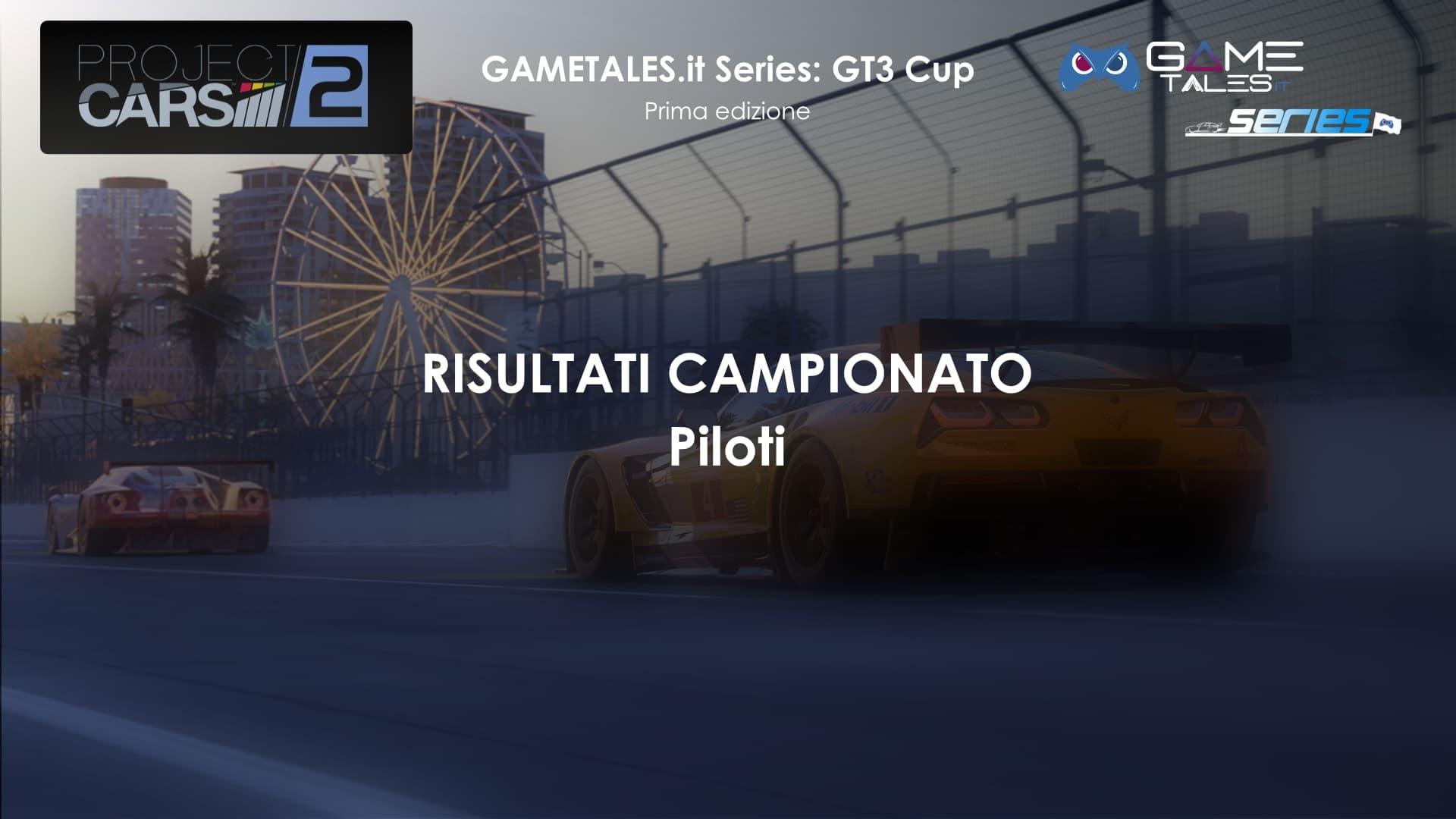Copertina campionato gt3 cup piloti