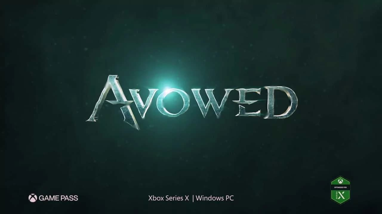 Avowed titolo screenshot trailer