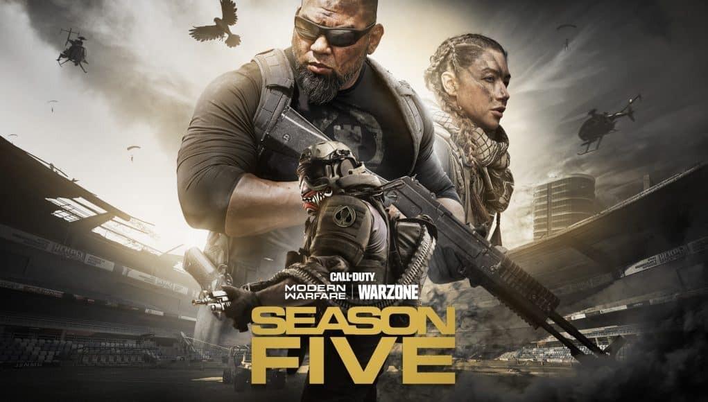 Call of Duty Warzone Stagione 5 copertina