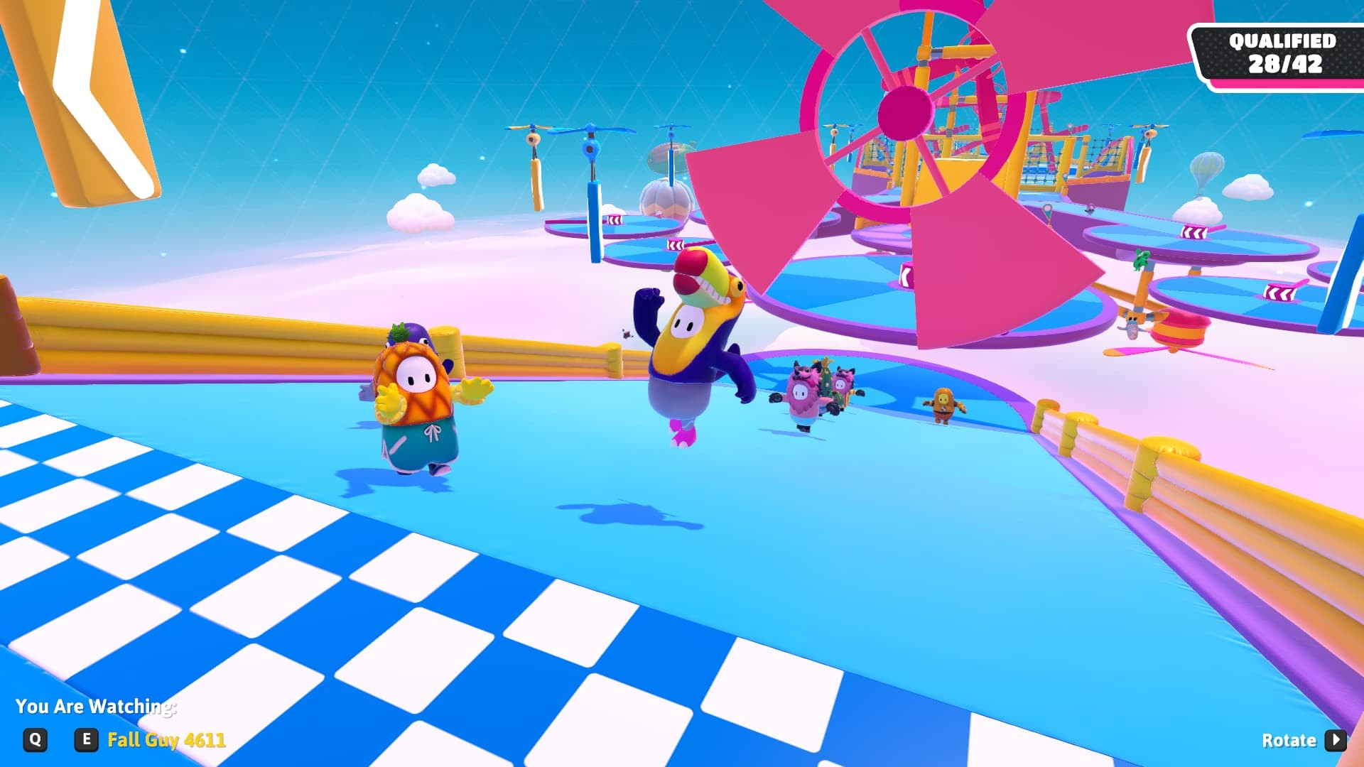 Fall Guys screenshot in game dodo