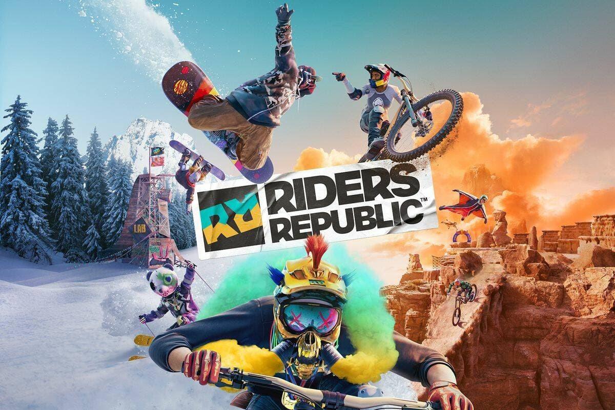 Riders Republic Artword copertina