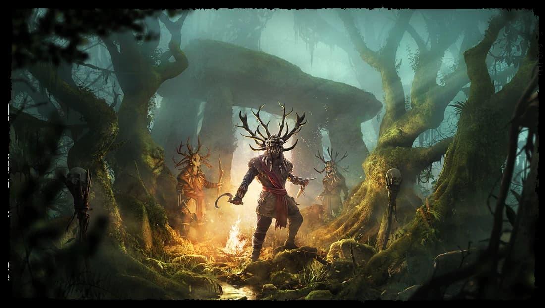 Assassin's Creed Valhalla Copllera dei Druidi copertina