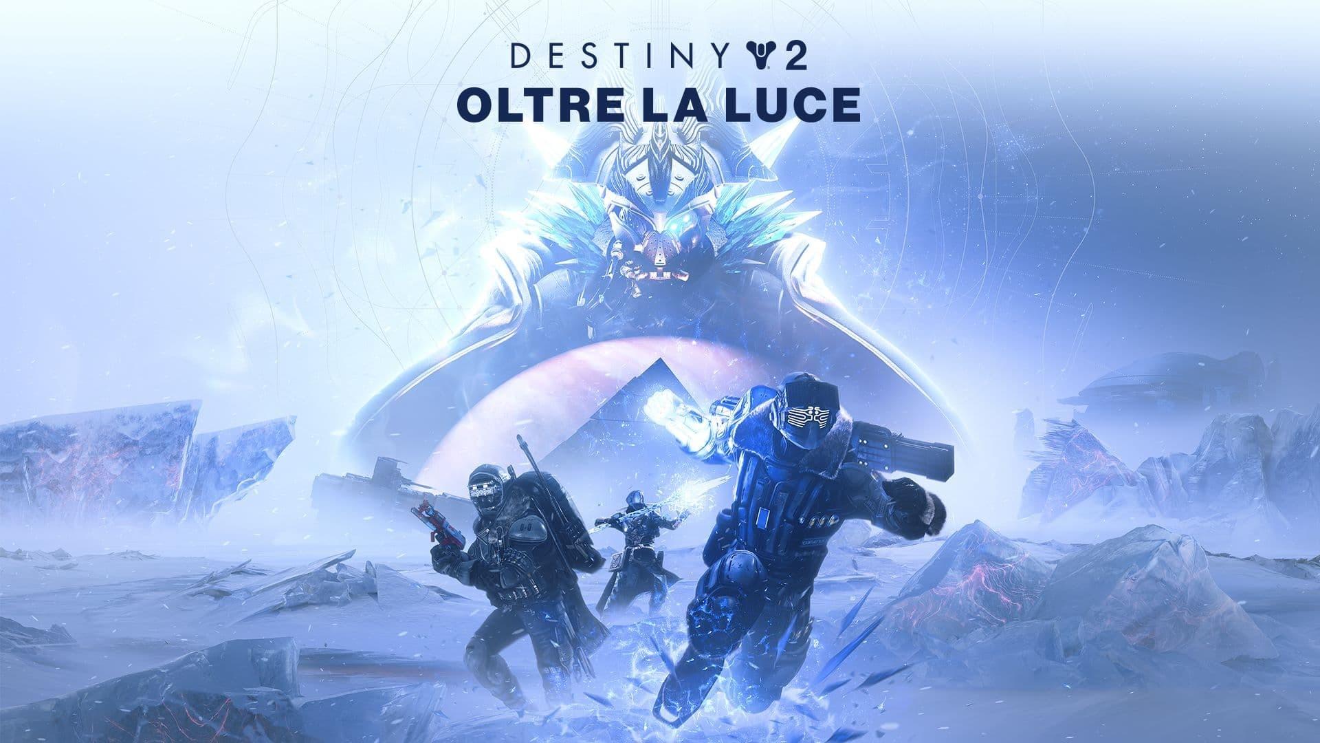Destiny 2 Oltre la Luce copertina titolo e Europa