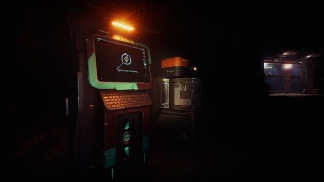 GTFO terminali screenshot cinematiche