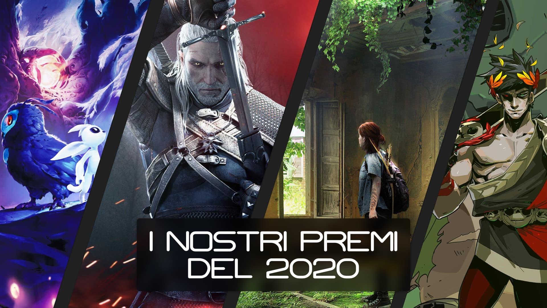 I premi del 2020 dalla redazione di gametales