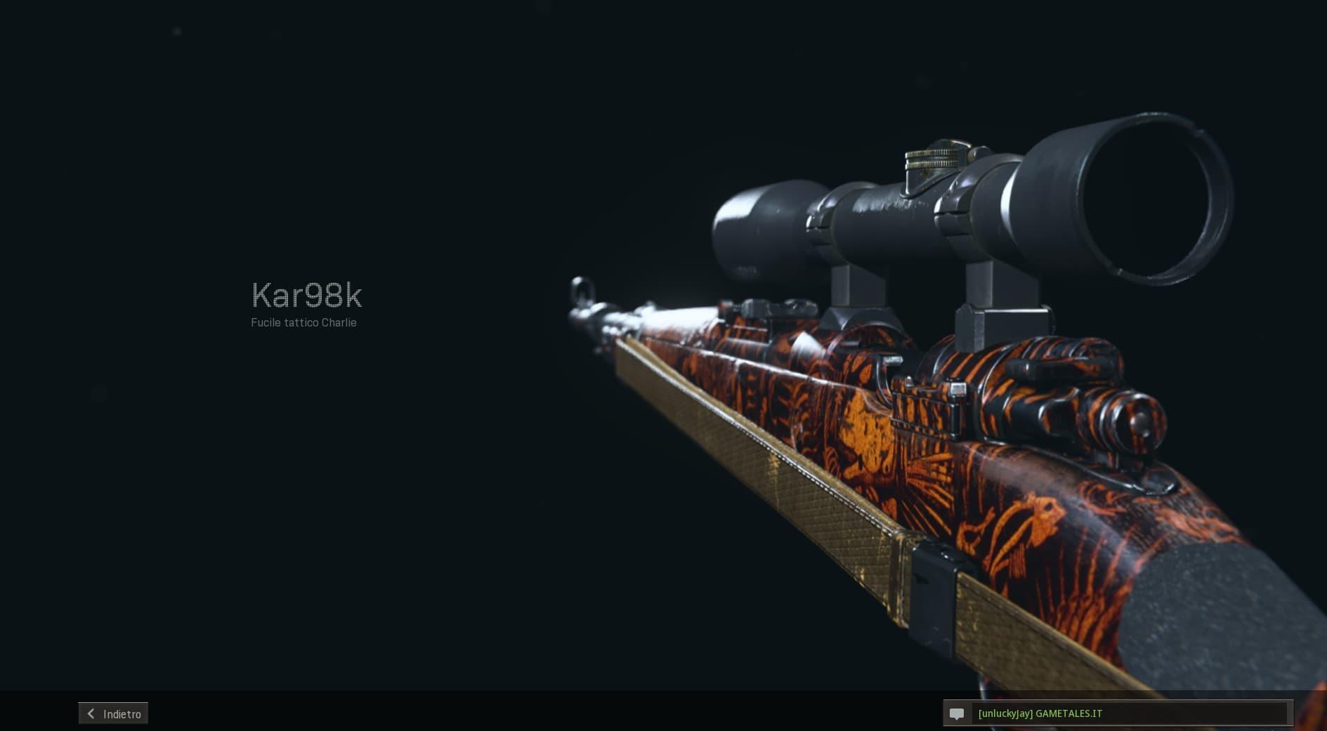 Call of Duty Warzone Build kar98k gmt anteprima