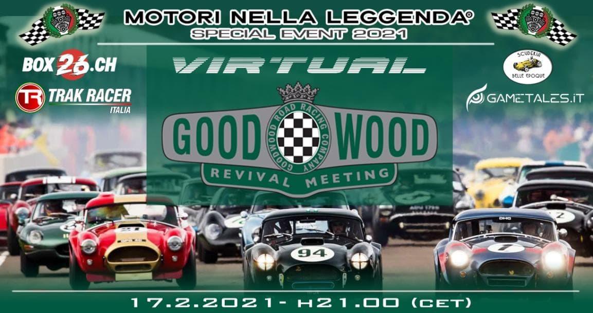 goodwood special event motori nella leggenda