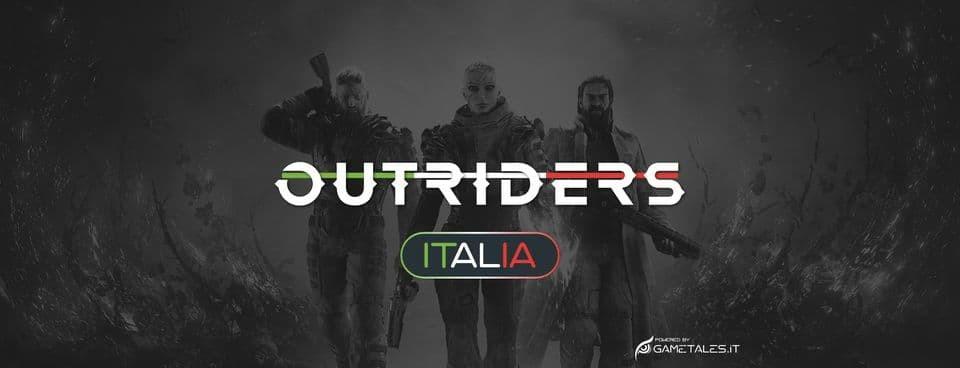 Outriders Italia copertina gruppo facebook