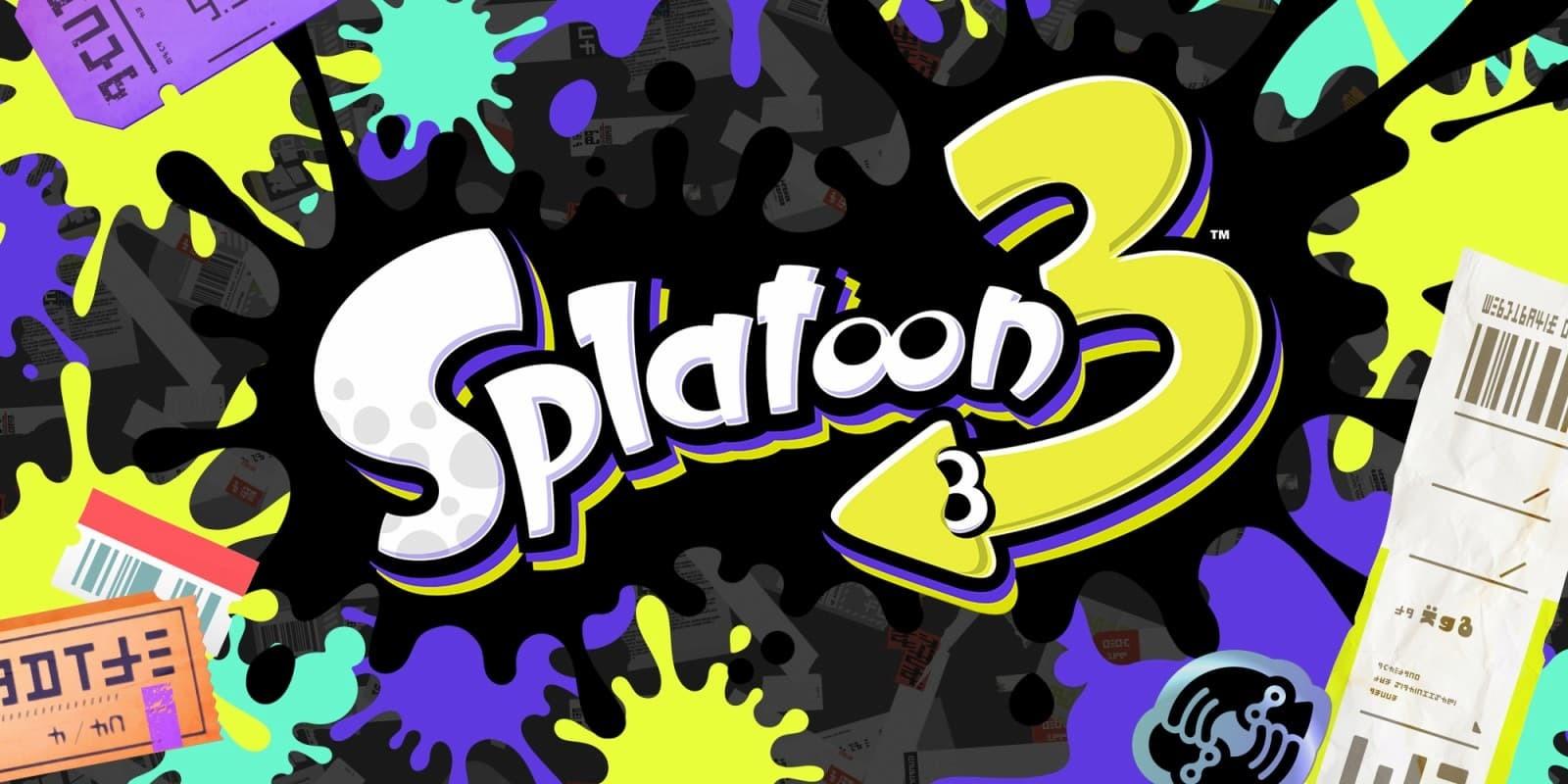 Splatoon 3 logo