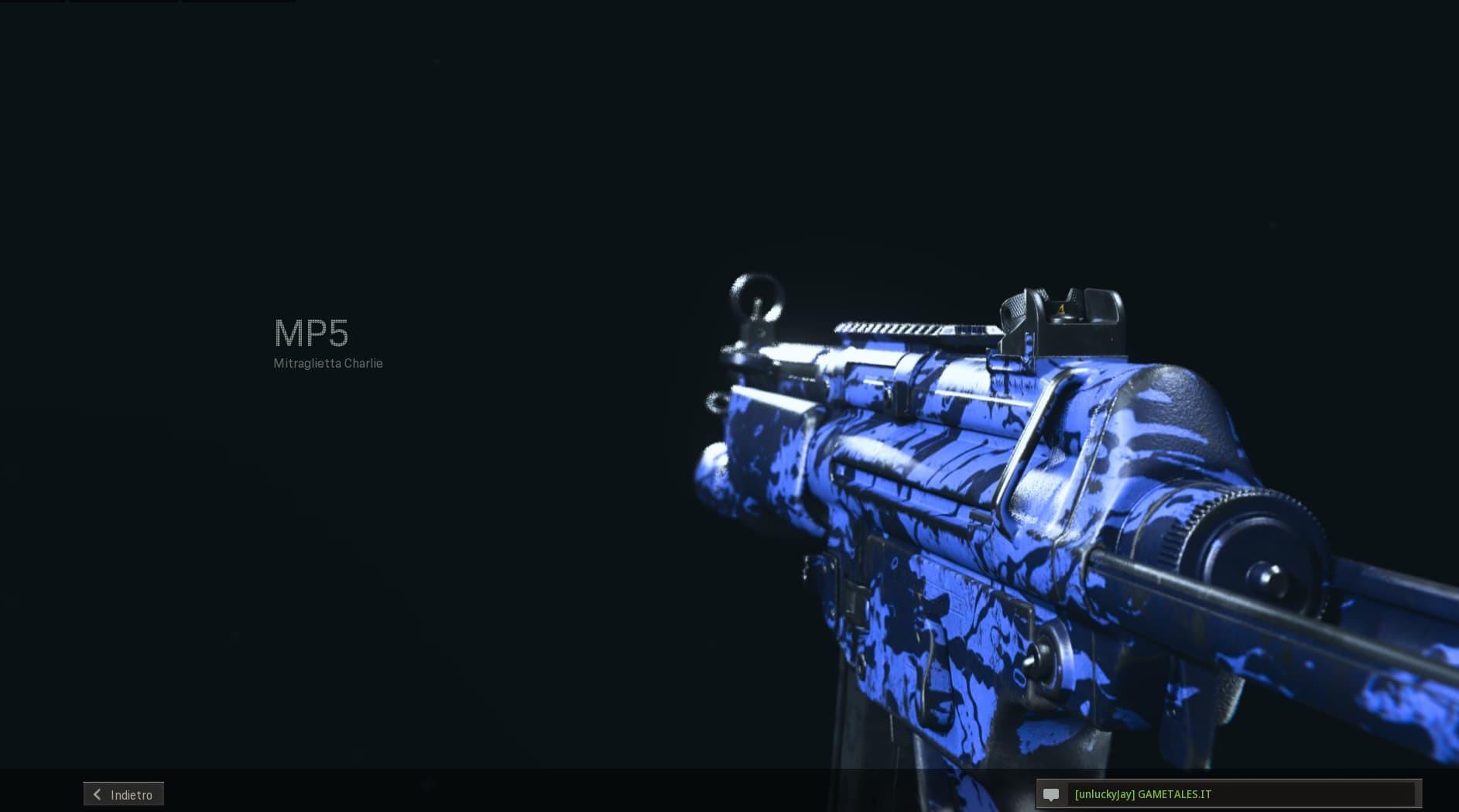 Warzone build MP5 anteprima