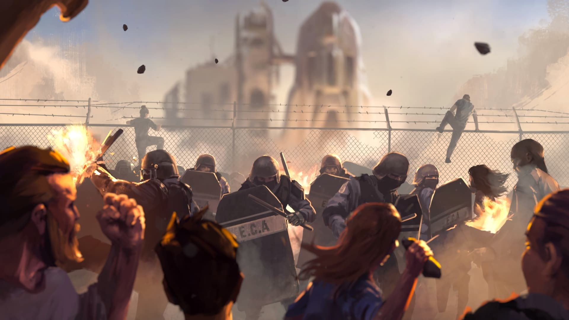 Outriders screenshot video lore Terra