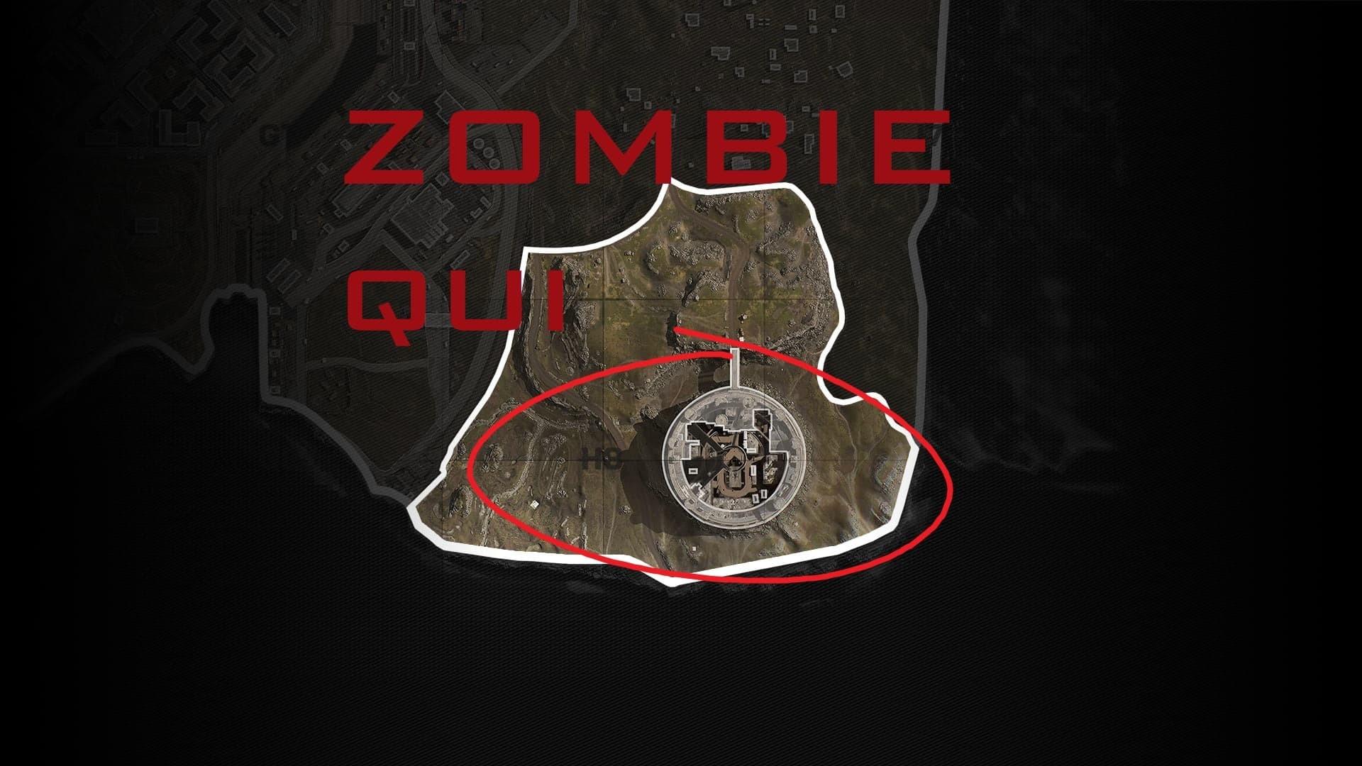Warzone Complesso Prigione Mappa Zombie