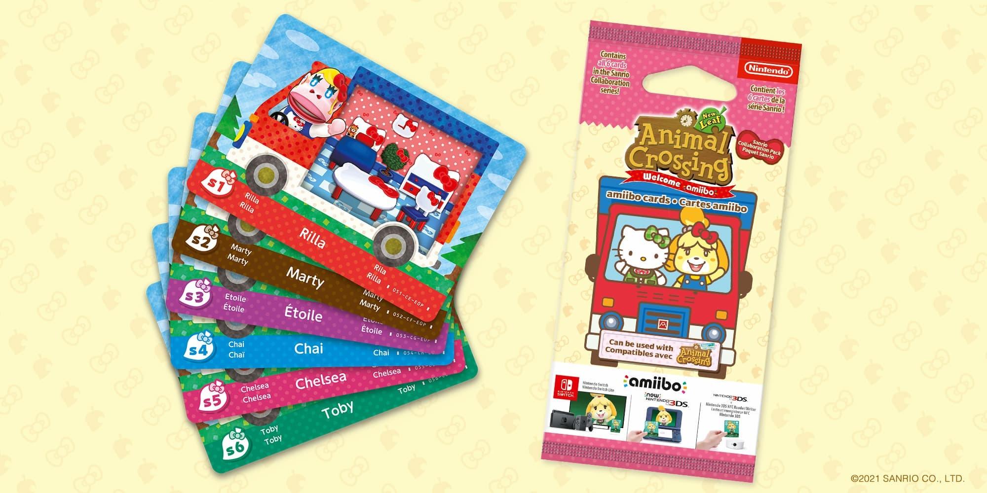 Sanrio Card Animal Crossing