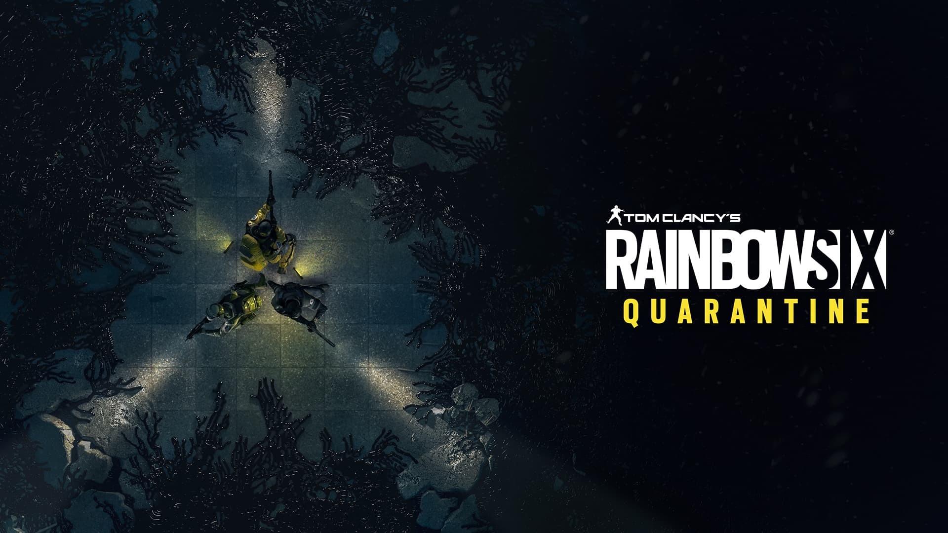 Rainbow Six Quarantene Cover con tittolo