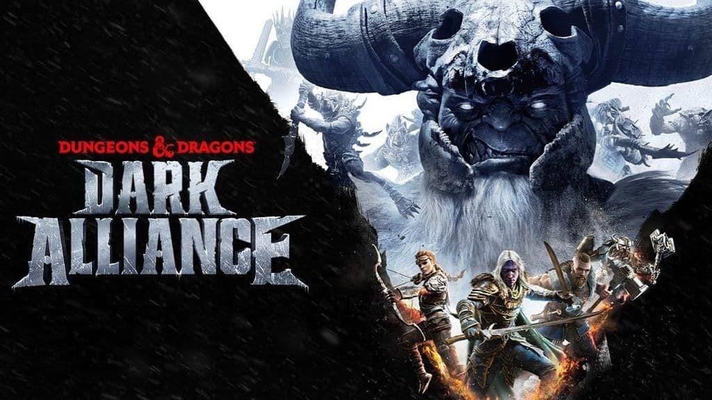 Dungeons and Dragons Dark Alliance Copertina con titolo