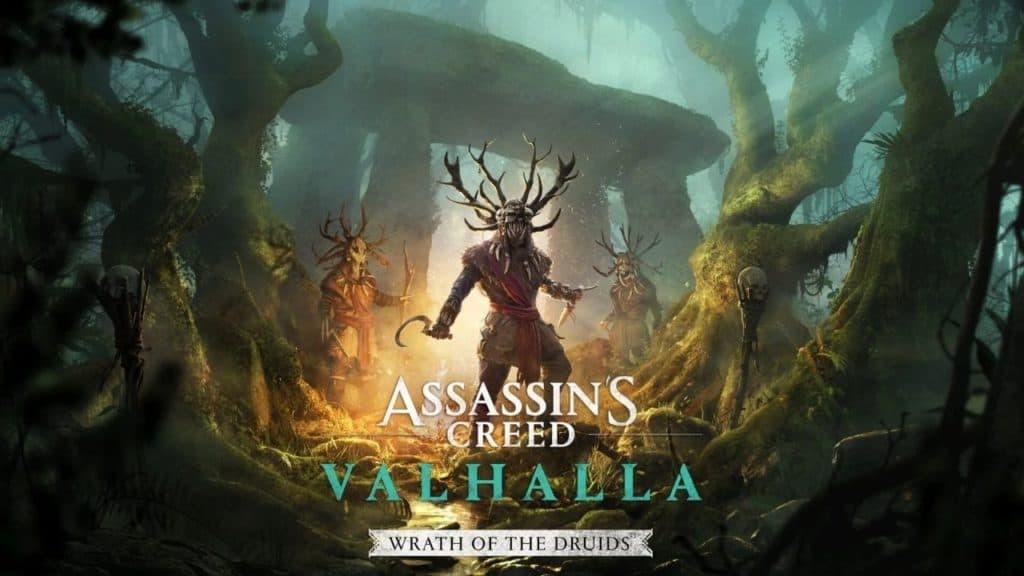 Assassin's Creed Valhalla L'ira dei druidi copertina