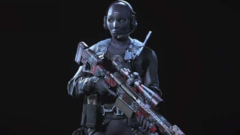 Call of Duty Warzone skin Roze
