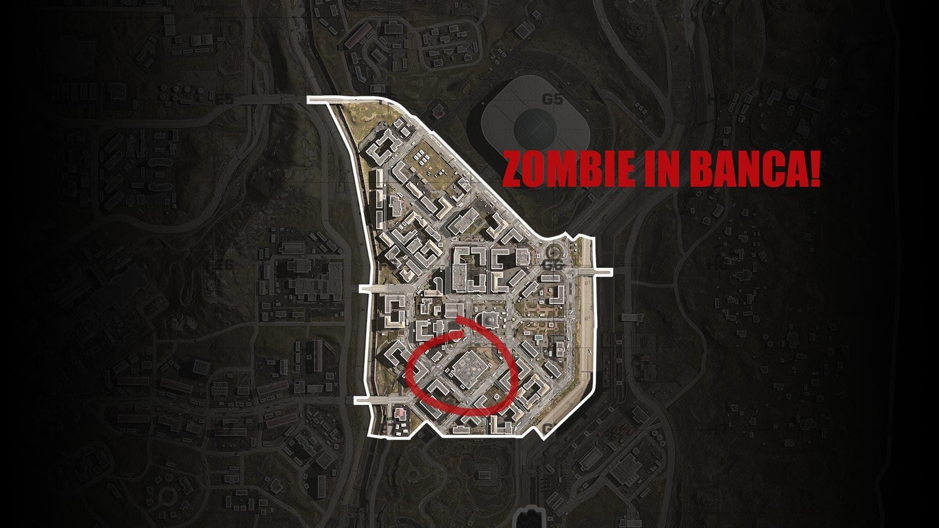Warzone distretto finanziario mappa zombie