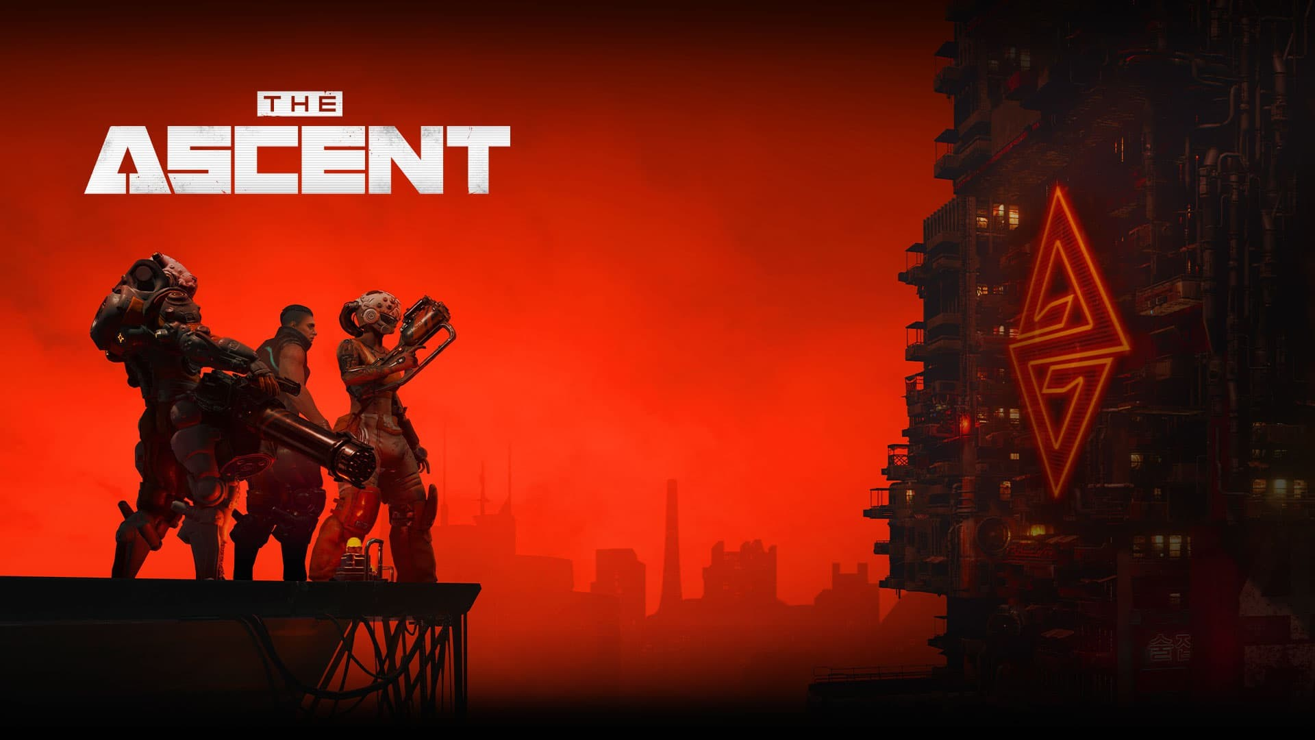 The ascent poster con logo