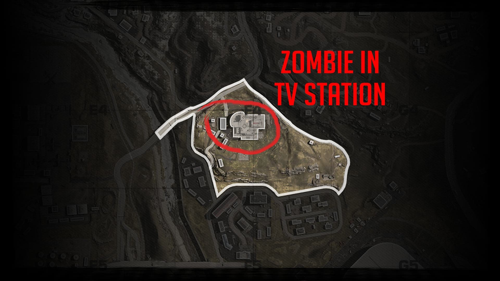 warzone - posizione zombie in tv station