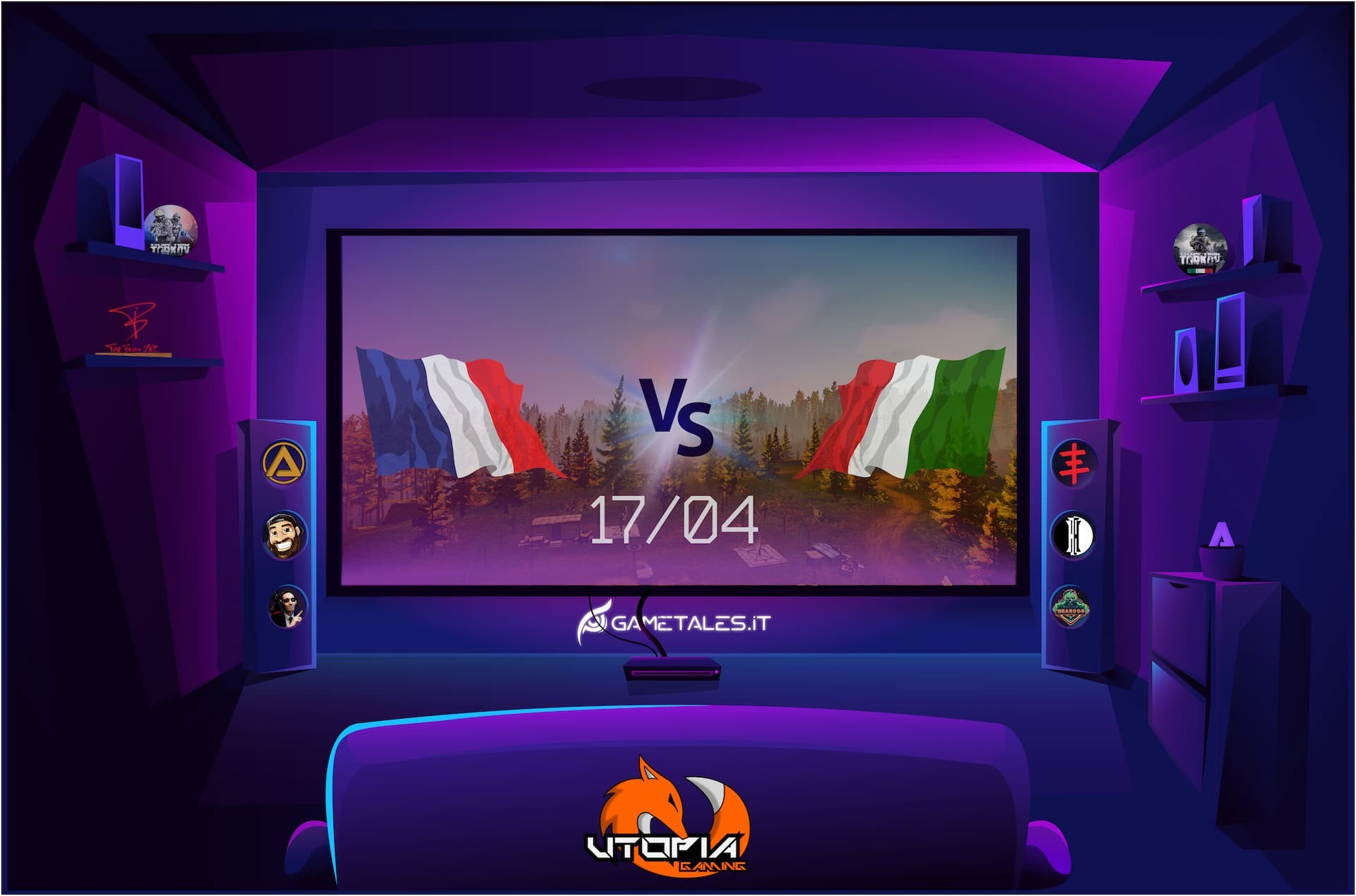 competizione-nazionale-francia-italia-escape-from-tarkov